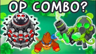 Pat's Pond CHIMPS. Bloon Solver+Tack Zone!