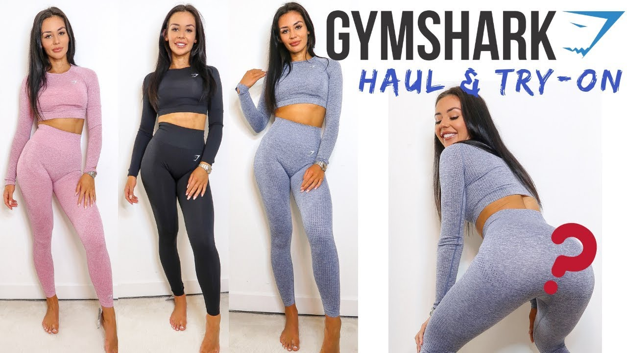 dd046f38fdee9 NEW GYMSHARK SEAMLESS COLLECTION TRY-ON HAUL   REVIEW