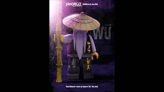 Ninjago March of the Oni: Wu's Poster