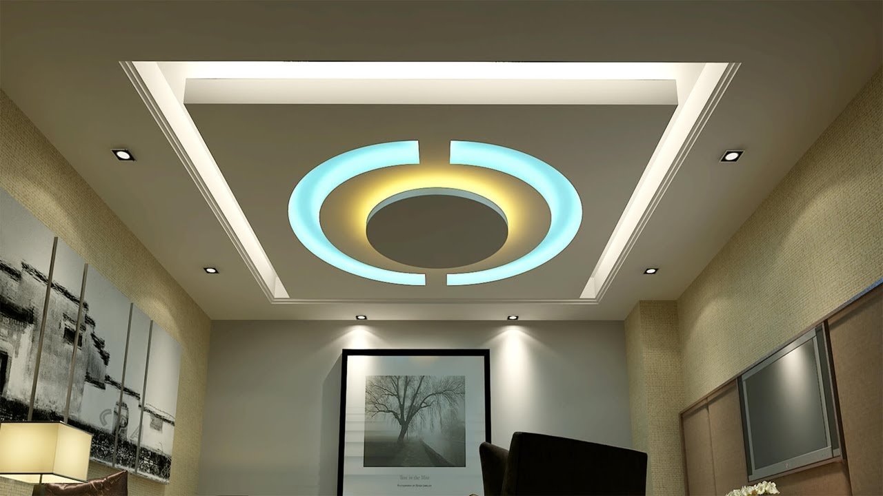 Ceiling design in pakistan for living room gypsum - Latest ceiling design for living room ...
