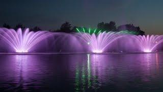 Поющий фонтан Roshen в Виннице(Поющий фонтан и лазерное шоу Рошен в Виннице, Украина. Singing fountain and Roshen laser show in Vinnytsia, Ukraine., 2012-06-15T05:22:33.000Z)