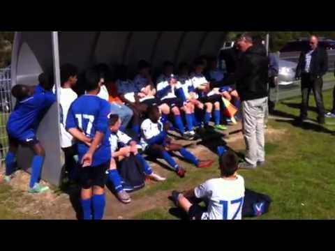 Williamstown vs Balmoral Derzelez FC U12 half time team talk