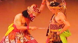 TARI BAMBANGAN CAKIL SUPER LUCU Dalijo Angkring TVRI Ramayana Ballet Prambanan HD