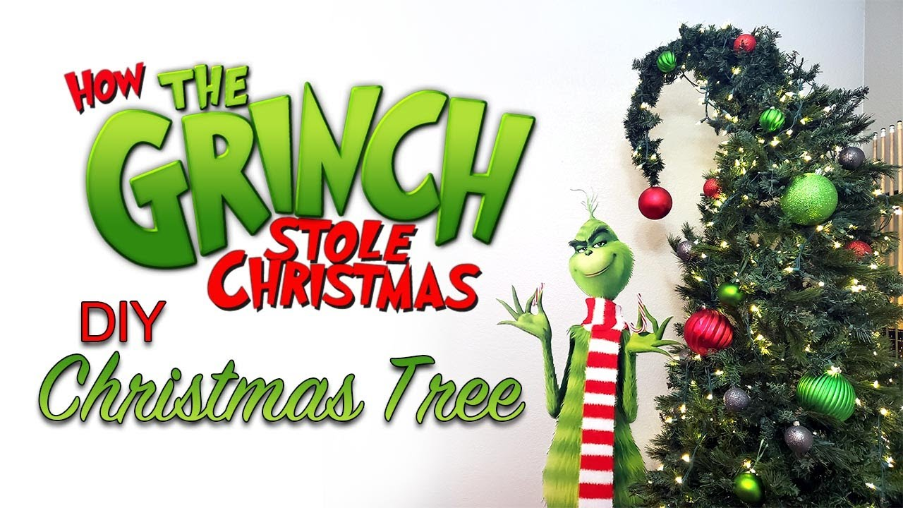 Diy Grinch Christmas Tree Whoville X Mas Tree Youtube,What Color Goes With Purple Leggings