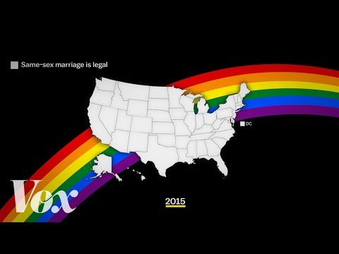 The march of marriage equality