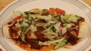 Ultimate Shredded Chicken Burrito Recipe