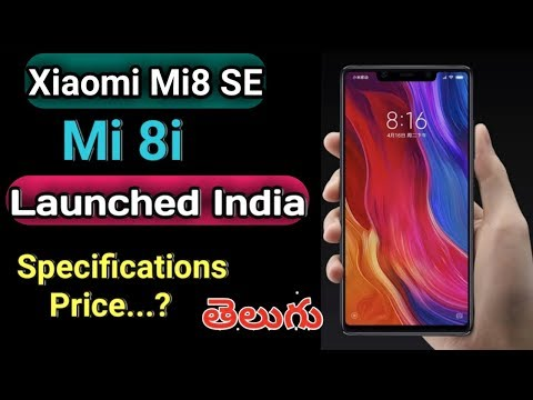 Xiaomi Mi 8 SE(Mi 8i) With Snapdragon 710 Launched India Specifications Price Dispaly Camera Battery