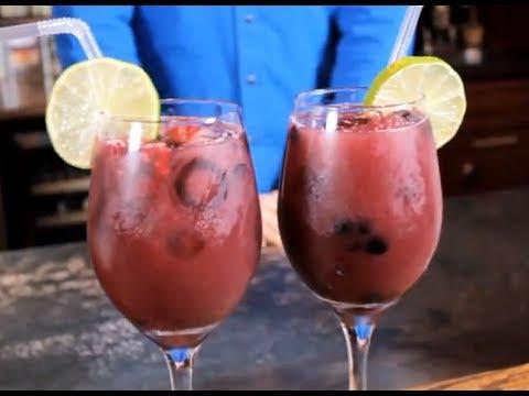 Frozen Berry Sangria Recipe - Red Brick Cafe's Signature Wine Sangria
