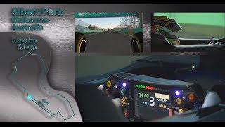 Albert Park: On Board with Lewis Hamilton in the F1 Simulator!