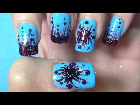 Simple Easy Nail Art Paint Ideas | Pretty Cute Nail Art Designs (part 11) – Scary Nails