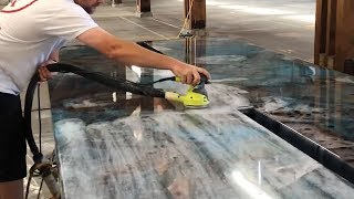 Amazing Creative Construction Worker DIY Make Marble Tables