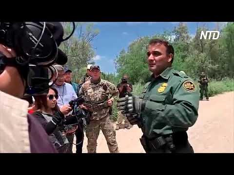 Тропы нарушителей границы в США