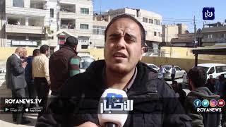 اعتصام لمعلمي الإضافي في مخيمات اللجوء السوري بالزرقاء - (30-10-2018)