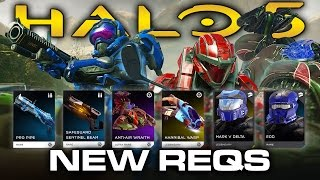 Halo 5 News - Monitor's Bounty Update REQs, Pro Pipe, Classic Helmets, REQ Gifts