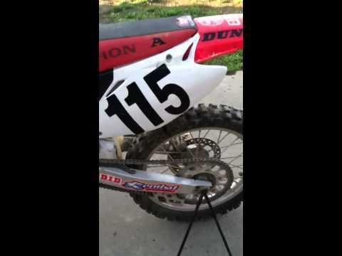 Honda cr 125 2002