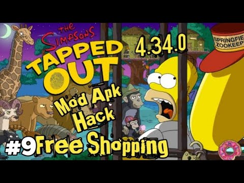 The Simpsons Tapped Out 4.34.0 Mod Apk Hack  #Smartphone #Android