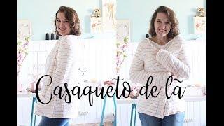 Casaco com malha de lã – COSTURA FÁCIL