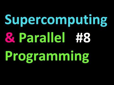 Broadcasting with bcast tutorial - Supercomputing and Parallel Programming in Python and MPI 8