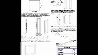 Pdf barn plans - Gentleman Barn with Side double swing doors