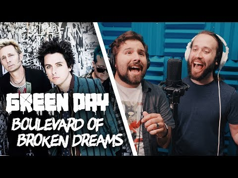 GREEN DAY - Boulevard of Broken Dreams (Cover by Jonathan Young & Caleb Hyles)