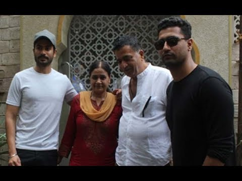 Vicky Kaushal Arrives for Lunch with Parents and Brother Sunny Kaushal   SpotboyE Mp3
