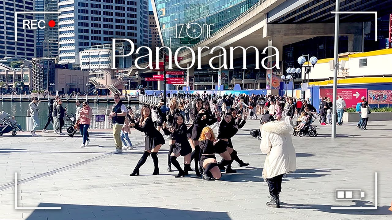 [KPOP IN PUBLIC BEHIND] IZ*ONE (아이즈원) - 'Panorama' Dance Cover in Australia Side Cam Ver.