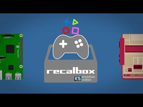 Сборка Raspberry и установка Recalbox