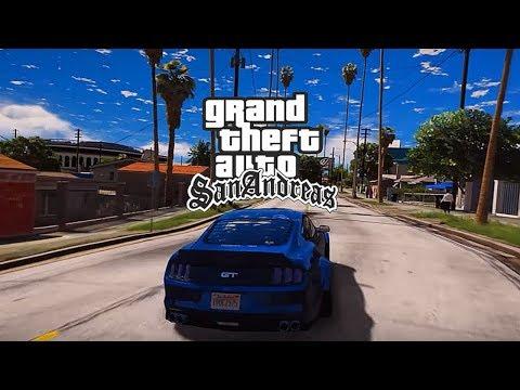 GTA San Andreas Remastered 2020 Trailer 4K   Ultimate Graphics Mod 2020