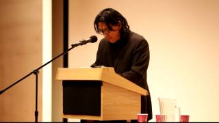 Li-Young Lee reads at the Sarah Lawrence Poetry Festival pt.1
