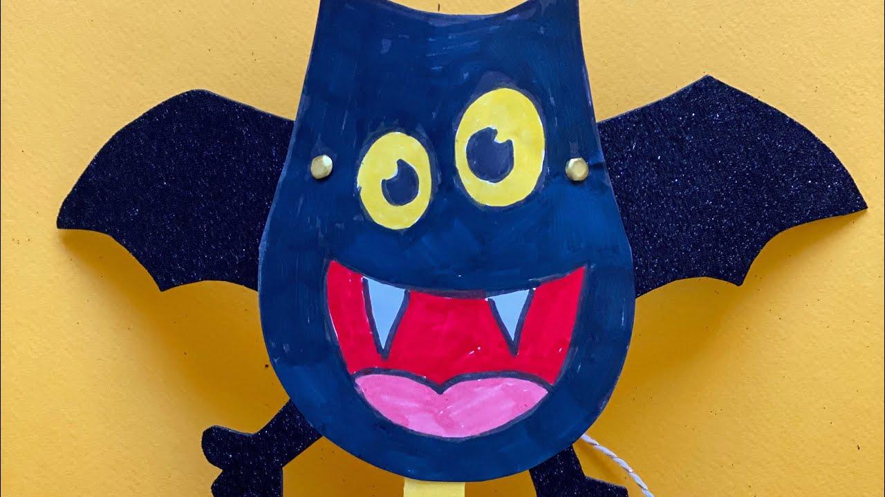 Murciélago bailarín para Halloween