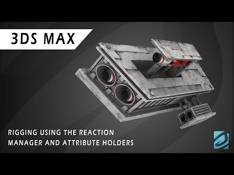 Rigging Inside 3DS Max - Reaction Manager and Attribute Holder