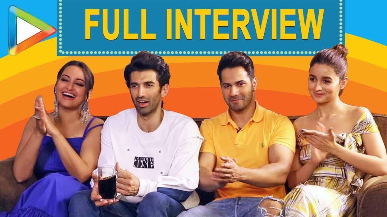 Download EXCLUSIVE: Varun, Alia, Sonakhi & Aditya On Kalank, SRK, Salman, Ranbir & Madhuri