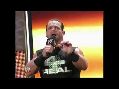 Chris Benoit is the General Manager: Raw, Nov. 22, 2004