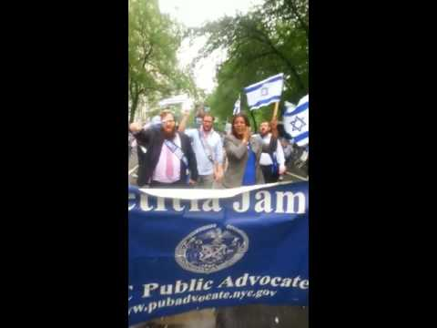 Dancing with NYC Public Advocate at Parade