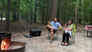 FIRST FAMILY CAMPING TŔIP | MARYLAND