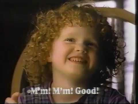 Campbell's Soup Mmm Mmm! Good Commercial 1990
