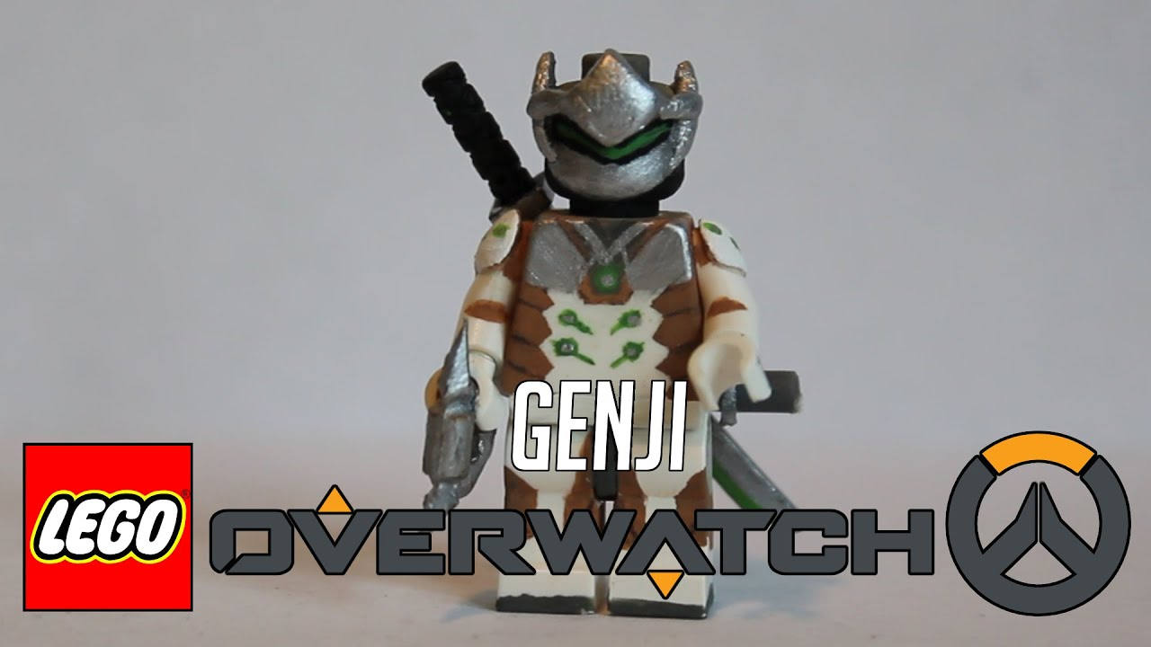 Lego Overwatch Genji Youtube