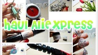 4º Haul Aliexpress | Compras recibidas ropa, complementos, maquillaje...