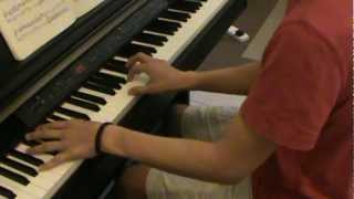 Piano and drums. (Original song n1)