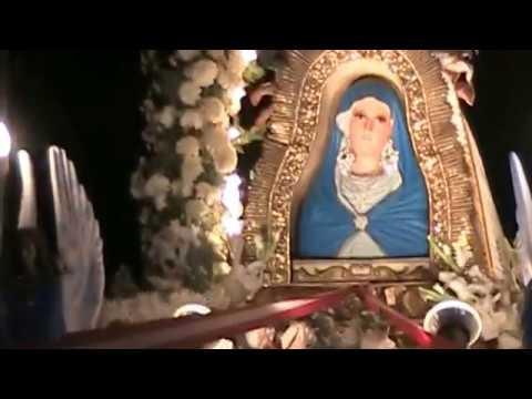 Inicio Del Recorrido Procesional De La Santisima Virgen De La Cueva Santa