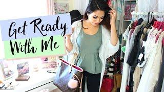 Get Ready With Me! Nail Art, Makeup, Outfit | Belinda Selene