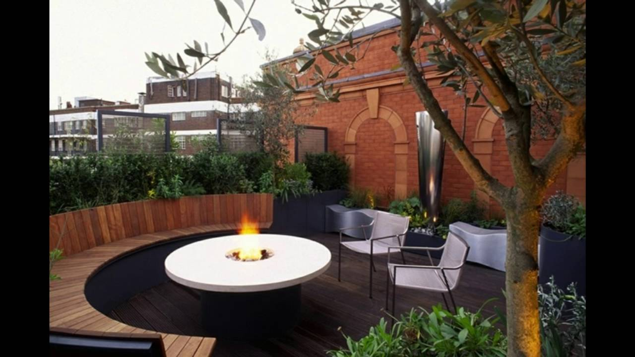 Ideas para terrazas patios o balcones acogedores youtube - Decoracion patios exteriores ...