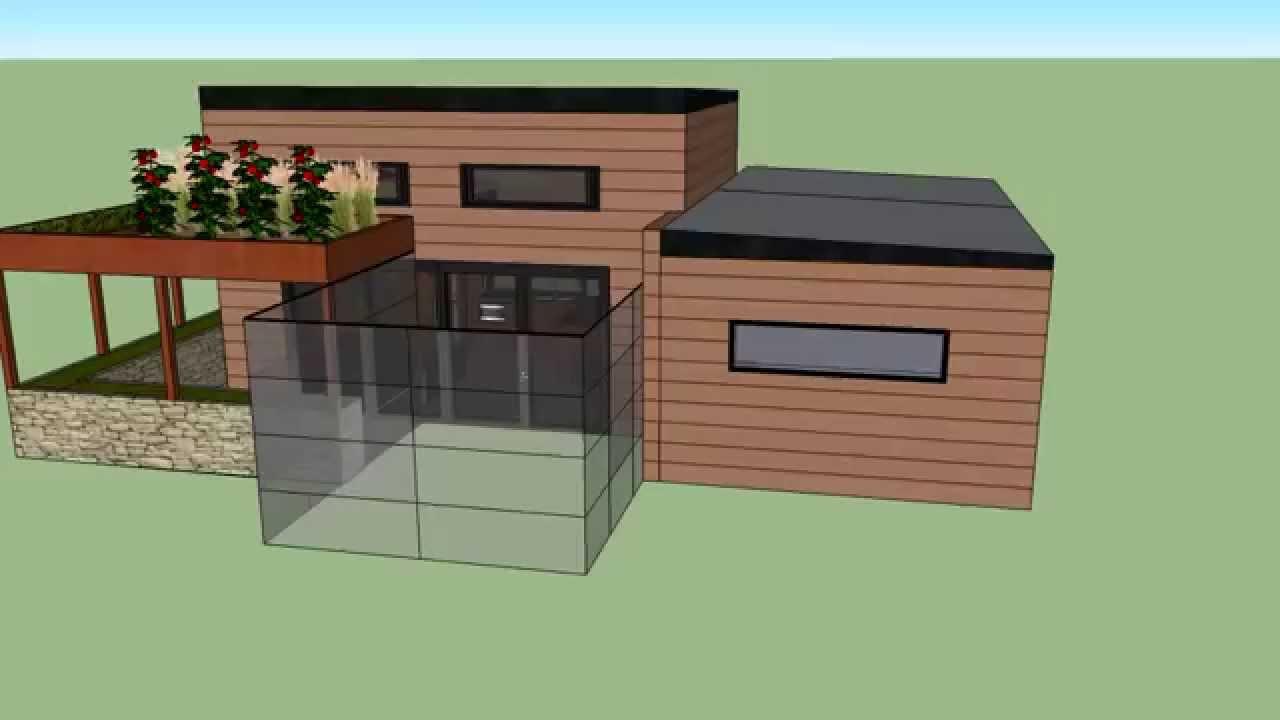 l 39 volutive une mini maison d 39 habitat multi g n rations youtube. Black Bedroom Furniture Sets. Home Design Ideas