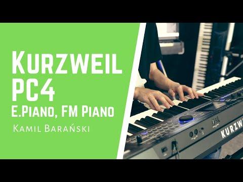 Nagrania dla muzykuj.com – Kurzweil PC4 – El. Pianos – Kurzweil PC4 – sounds demonstration gra: Kamil Barański www.muzykuj.com. Jastrzębie-Zdrój 2019