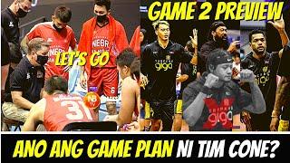 GAME 2 PREVIEW NG GINEBRA VS TNT | COACH TIM CONE GAME PLAN | PBA UPDATE