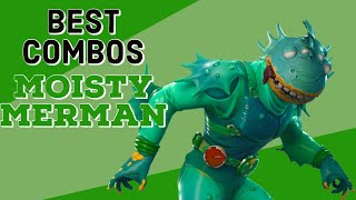Meilleurs Combos Moisty Merman (New Edit Styles) Fortnite Skin Examen