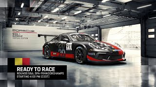 Porsche Mobil 1 Supercup Virtual Edition 2020 Rounds 5 & 6 from the Circuit of Spa-Francorchamps