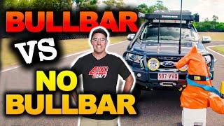 BULLBAR CRASH TEST – How strong are they? PLUS How a bullbar is made!