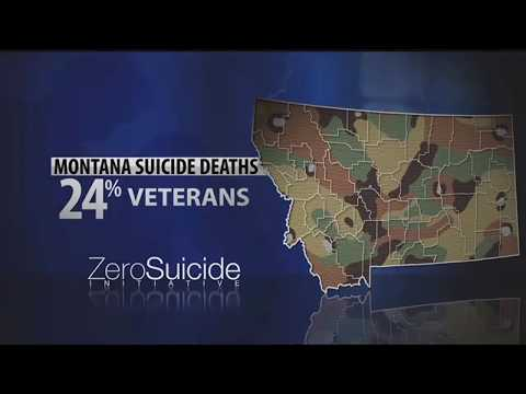 Zero Suicide Initiative: Military veterans in Montana