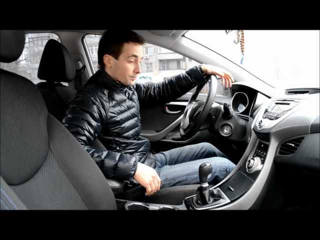 Тест-драйв Hyundai Elantra (Хундай Элантра)